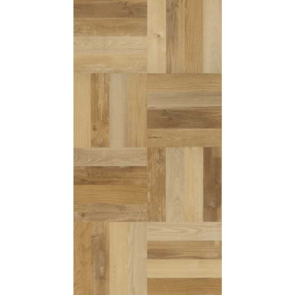 Belakos squared wood tile 100