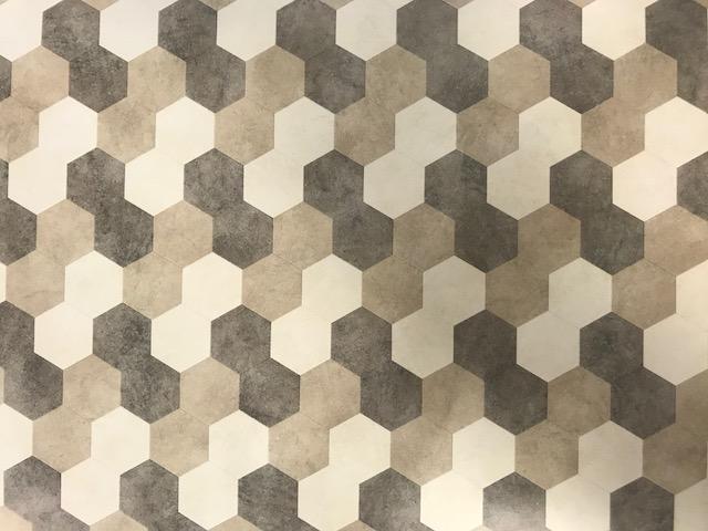 Moduleo moods hexagon kleur pvc vloeren